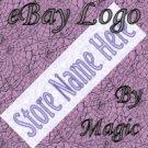Lavender Tile Customized eBay Store Logo 310 X 90 #L054