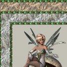 Green Mushroom Fairy Ebay, OLA, Overstock Ad Listing Template Html Web Page #045