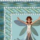 Green Aqua Pixie Fairy Ebay, OLA, Overstock Ad Listing Template Html Web Page #046