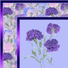 Purple Carnation Floral Ebay, OLA, Overstock Ad Listing Template Html Web Page #050