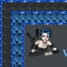 Black and Blue EMO Rocker Girl Ebay, OLA, Overstock Ad Listing Template Html Web Page #051