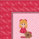 Pink Girl with Puppy Ebay, OLA, Overstock Ad Listing Template Html Web Page #054