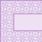 Purple Flower Pattern Ebay, OLA, Overstock Ad Listing Template Html Web Page #087