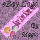 Girl with Book Reading Customized eBay Store Logo 310 X 90 #L063
