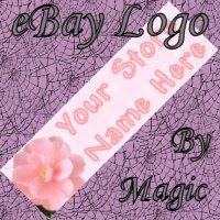 Orange Flower Customized eBay Store Logo 310 X 90 #L066