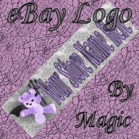 Purple Devil Bear Customized eBay Store Logo 310 X 90 #L078