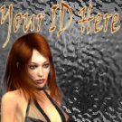 Sexy Red Head My Space, eBay My World, Web Icon #M003