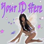 Fairy With Stars My Space, eBay My World, Web Icon #M007
