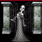 Gothic Scene with Girl Ebay, OLA, Overstock Ad Listing Template Html Web Page #095