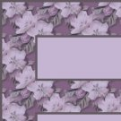 Purple Flower Pattern Ebay, OLA, Overstock Ad Listing Template Html Web Page #111
