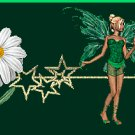 Green Fairy with Daisy Ebay, OLA, Overstock Ad Listing Template Html Web Page #117