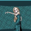 Girl in Formal Green Dress Ebay, OLA, Overstock Ad Listing Template Html Web Page #132