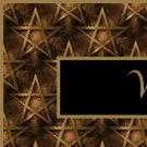Gold and Black Star Pentagram Ebay, OLA, Overstock Ad Listing Template Html Web Page #135