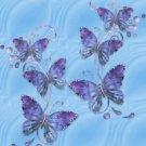 Blue Butterflys eCrator Store Logo Set Web Set OOAK #E01