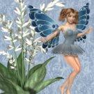 Blue Butterfly Fairy eCrator Store Logo Set Web Set OOAK #E09