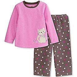 Carter's Toddler Girl's 2-pc. Fleece Pajama
