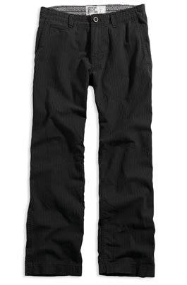 AE Black Pinstripe Pant