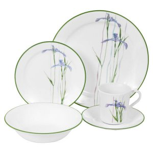 CORELLE Impressions Shadow Iris 32-pc Set