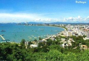 Pattaya Bay postcard