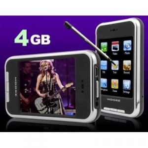 Touch Screen 4GB 2.8-Inch TFT MP4/MP3 Movie Music Personal Media Player