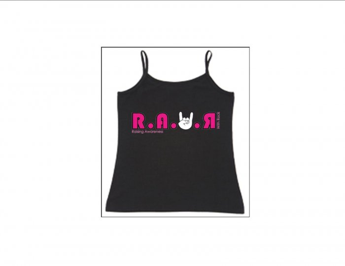 Womens Thin Strapped Tank - Pink