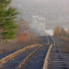 Houghton Michigan Bridge***New Tram