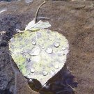 "FLOATING LEAF ANGEL TEAR CATCHER**8""X10"""