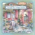 KIM JACOBS THROUGH MY COTTAGE WINDOW 2007 WALL CALENDAR-FREE SHIPPING!