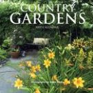 COUNTRY GARDENS 2007 WALL CALENDAR