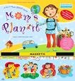MOM'S PLAN-IT 2007 MAGNETIC MOUNT WALL CALENDAR-FREE SHIPPING!