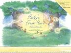 BABY'S FIRST YEAR STICKERS UNDATED WALL CALENDAR