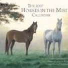 HORSES IN THE MIST 2007 WALL CALENDAR-ORDER 2 OF THIS ITEM FOR FREE SHIPPING!