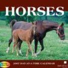 HORSES 2007 DESK CALENDAR