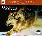 WOLVES WWF 2007 DELUXE WALL CALENDAR-ORDER 2 OF THIS ITEM FOR FREE SHIPPING!