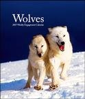 WOLVES 2007 HARDCOVER ENGAGEMENT CALENDAR