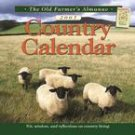 OLD FARMER'S ALMANAC COUNTRY 2007 WALL CALENDAR