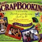 EASY SCRAPBOOKING 2007 DESK CALENDAR