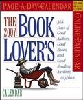 BOOK LOVER'S PAGE A DAY 2007 DESK CALENDAR-FREE SHIPPING!