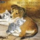 BEST OF FRIENDS 2007 WALL CALENDAR