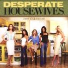 DESPARATE HOUSEWIVES 2007 WALL CALENDAR