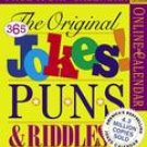 365 DAYS OF JOKES PUNS & RIDDLES PAGE A DAY 2007 DESK CALENDAR-FREE SHIPPING!