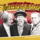 THE THREE STOOGES 2007 DESK CALENDAR