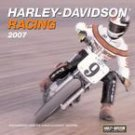 HARLEY-DAVIDSON RACING 2007 WALL CALENDAR