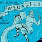 AQUARIUS-2007 MINI DESK CALENDAR