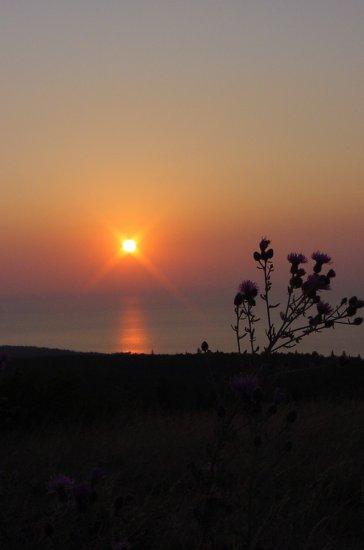Copper Harbor Michigan Sunset--#3
