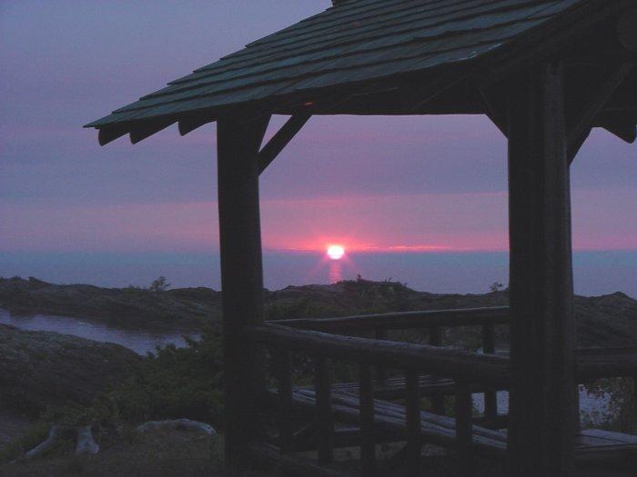 Keweenaw Upper Michigan Sunset---#2