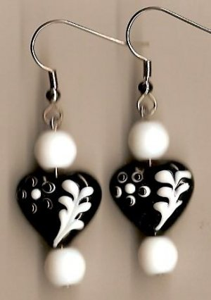 Black and White Heart