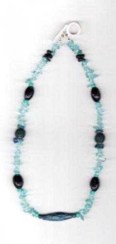 TealWood Necklace