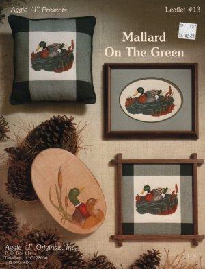 Mallard On The Green Cross stitch leaflet