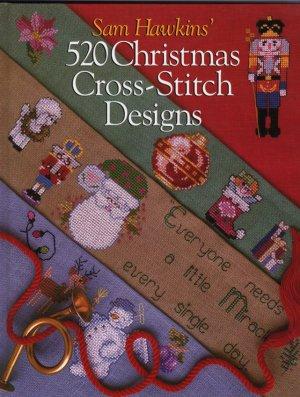 Sam Hawkins 520 Christmas Cross Stitch Designs